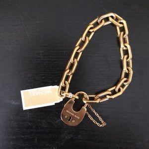 Michael Kors Locket Bracelet in Gold
